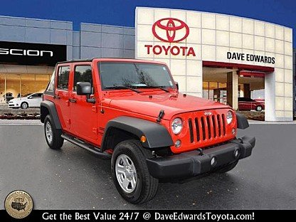 2017 Jeep Wrangler 4WD Unlimited Sport for sale 100927617