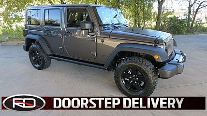 2017 Jeep Wrangler 4WD Unlimited Sport for sale 100927987
