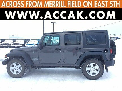 2017 Jeep Wrangler 4WD Unlimited Sport for sale 100943484