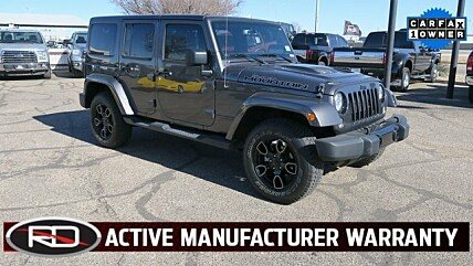2017 Jeep Wrangler 4WD Unlimited Sahara for sale 100951895