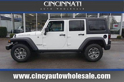 2017 Jeep Wrangler 4WD Unlimited Rubicon for sale 100962068
