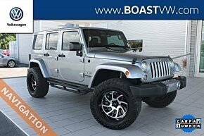 2017 Jeep Wrangler 4WD Unlimited Sahara for sale 101055158