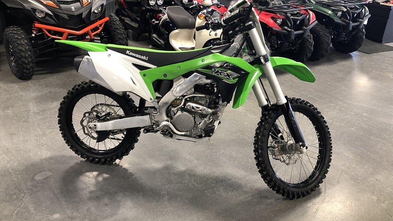 2017 Kawasaki KX250F for sale 200529158