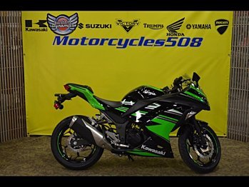 2017 Kawasaki Ninja 300 ABS for sale 200514843