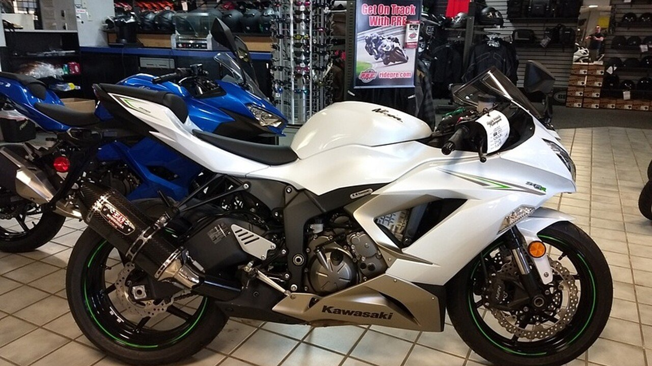 2017 Kawasaki Ninja ZX-6R for sale 200547130