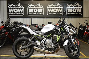 2017 Kawasaki Z650 for sale 200630485