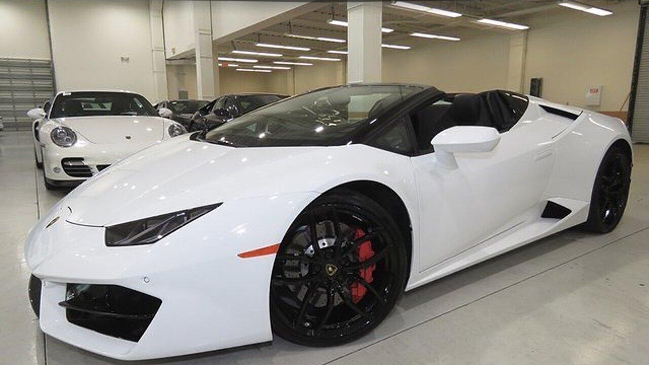 2017 Lamborghini Huracan LP 580-2 Spyder for sale 100890805