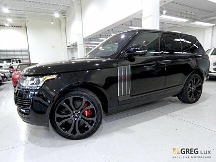 2017 Land Rover Range Rover for sale 100973186