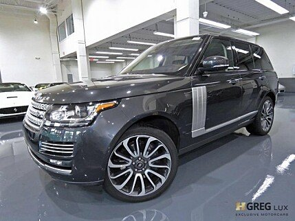 2017 Land Rover Range Rover for sale 100985915