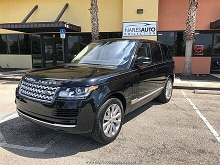 2017 Land Rover Range Rover for sale 101040314