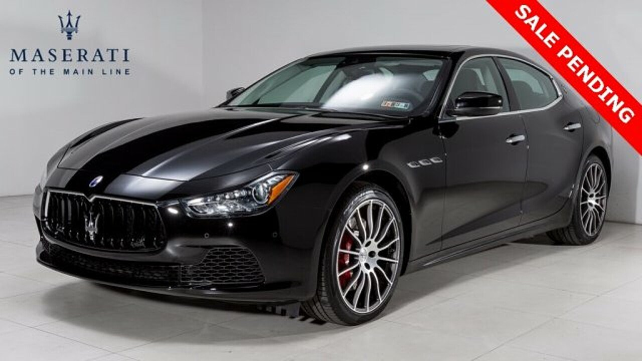 2017 Maserati Ghibli S Q4 w/ Sport Package for sale 100924461