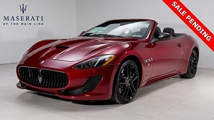 2017 Maserati GranTurismo Convertible for sale 100858314