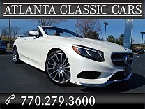 2017 Mercedes-Benz S550 Cabriolet for sale 100818599