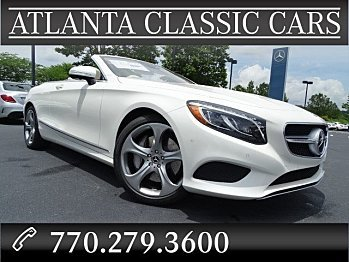 2017 Mercedes-Benz S550 Cabriolet for sale 100873904