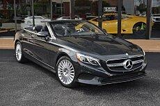 2017 Mercedes-Benz S550 Cabriolet for sale 100917337
