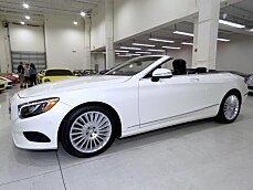 2017 Mercedes-Benz S550 Cabriolet for sale 100942590