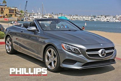 2017 Mercedes-Benz S550 Cabriolet for sale 101023516
