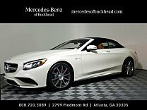 2017 Mercedes-Benz S63 AMG 4MATIC Cabriolet for sale 100834530