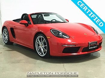 2017 Porsche 718 Boxster for sale 100785001