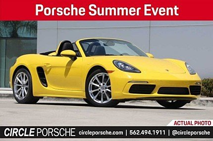 2017 Porsche 718 Boxster for sale 100982287