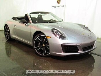 2017 Porsche 911 Carrera Cabriolet for sale 100814693