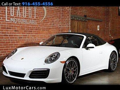 2017 Porsche 911 Cabriolet for sale 100925892
