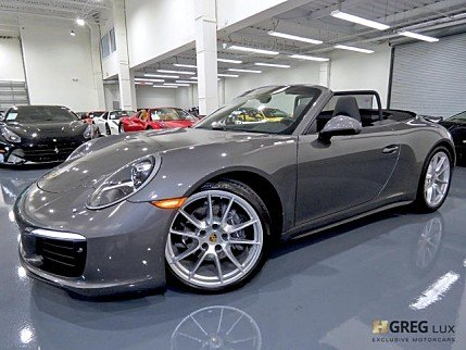 2017 Porsche 911 Carrera Cabriolet for sale 101001480