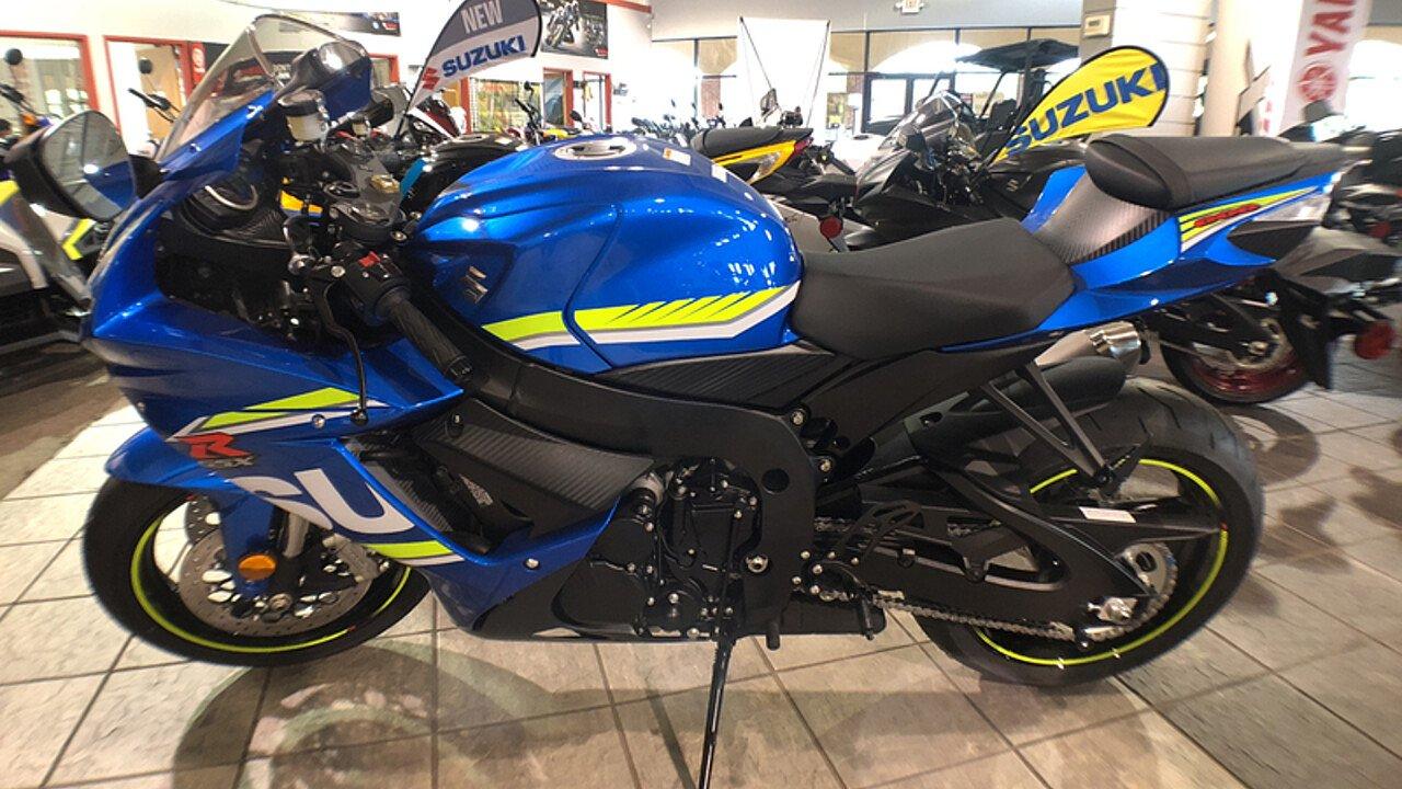 2017 Suzuki GSX-R600 for sale 200609424