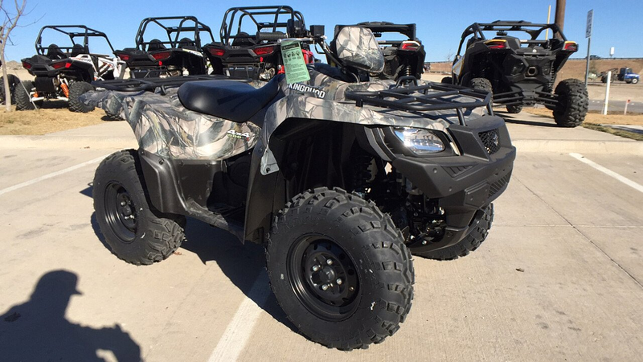 2017 Suzuki KingQuad 500 for sale 200515268