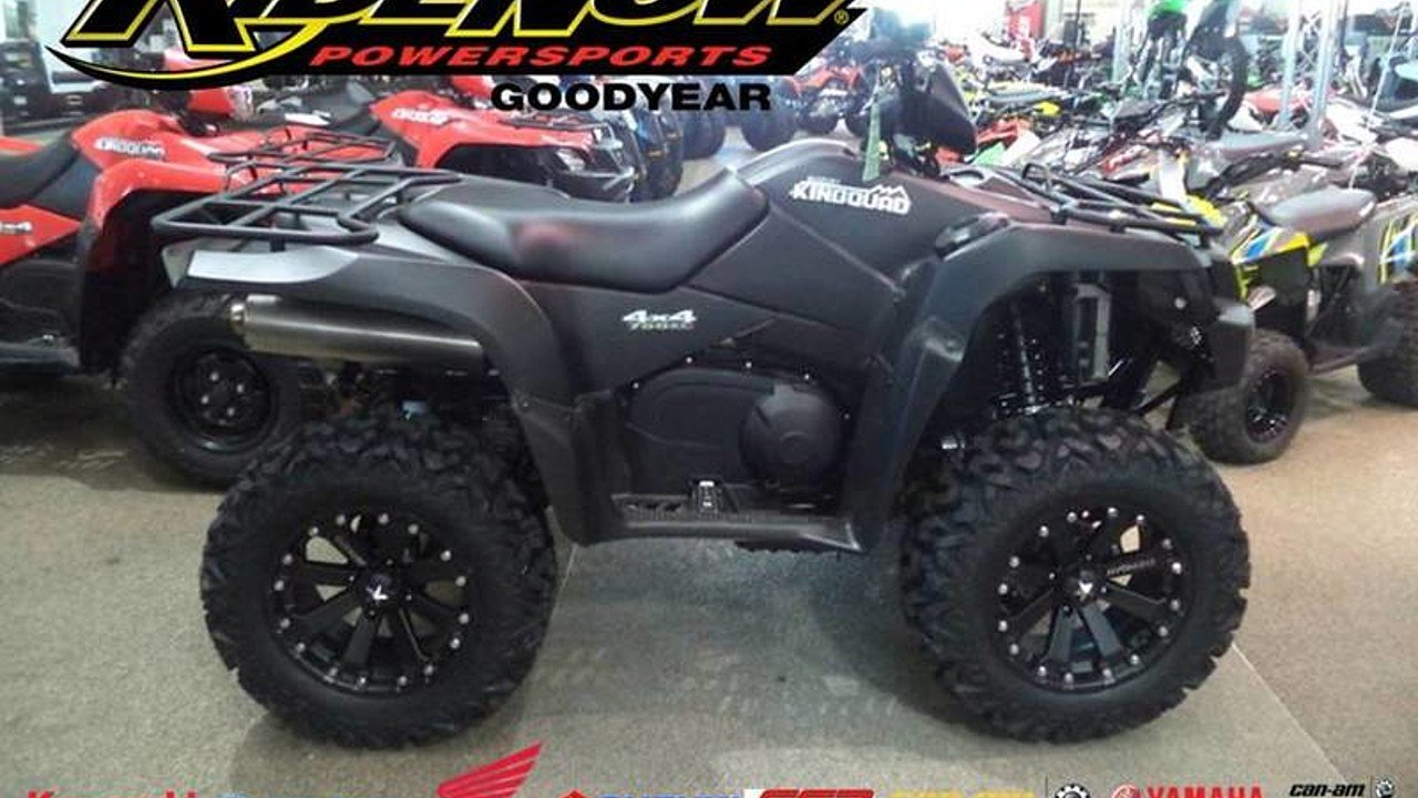 2017 Suzuki KingQuad 750 for sale 200405417