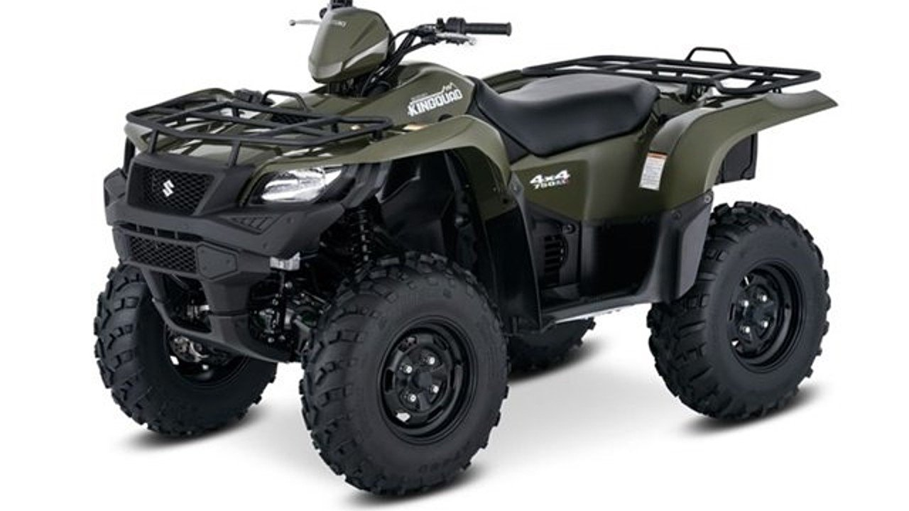 2017 Suzuki KingQuad 750 for sale 200496119