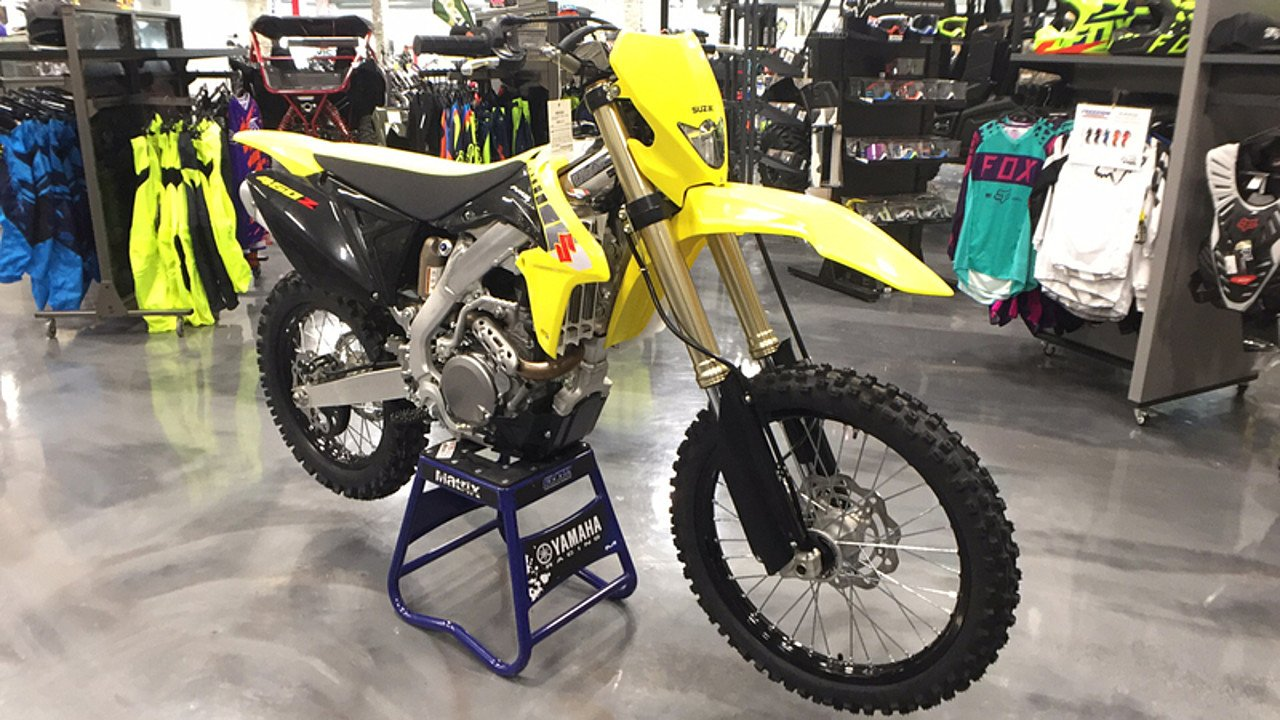 2017 Suzuki RMX450Z for sale 200407340