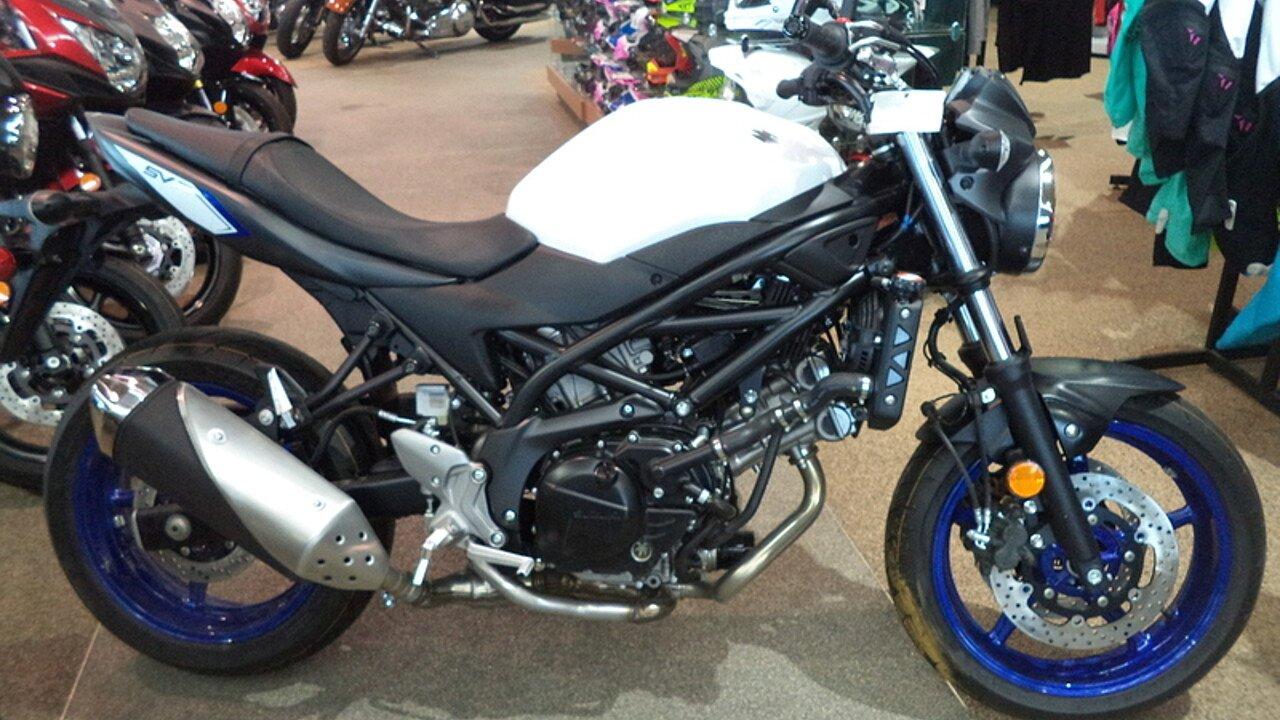 2017 Suzuki SV650 for sale 200405221