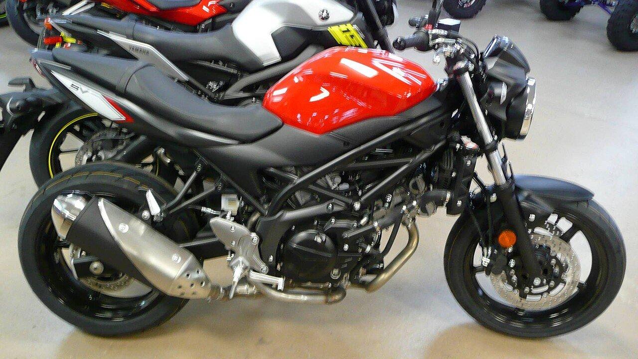 2017 Suzuki SV650 for sale 200448254