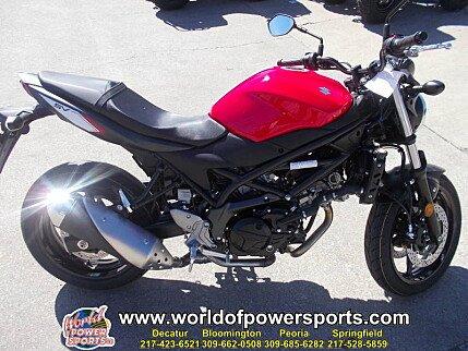 2017 Suzuki SV650 for sale 200638408