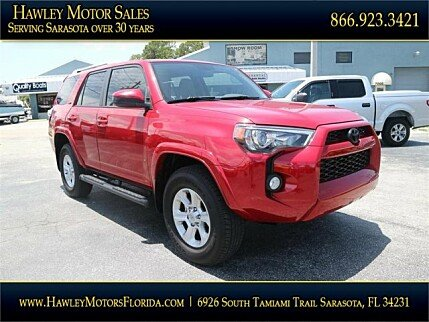 2017 Toyota 4Runner 4WD for sale 100995708