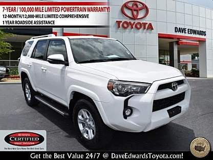 2017 Toyota 4Runner 2WD for sale 101000751