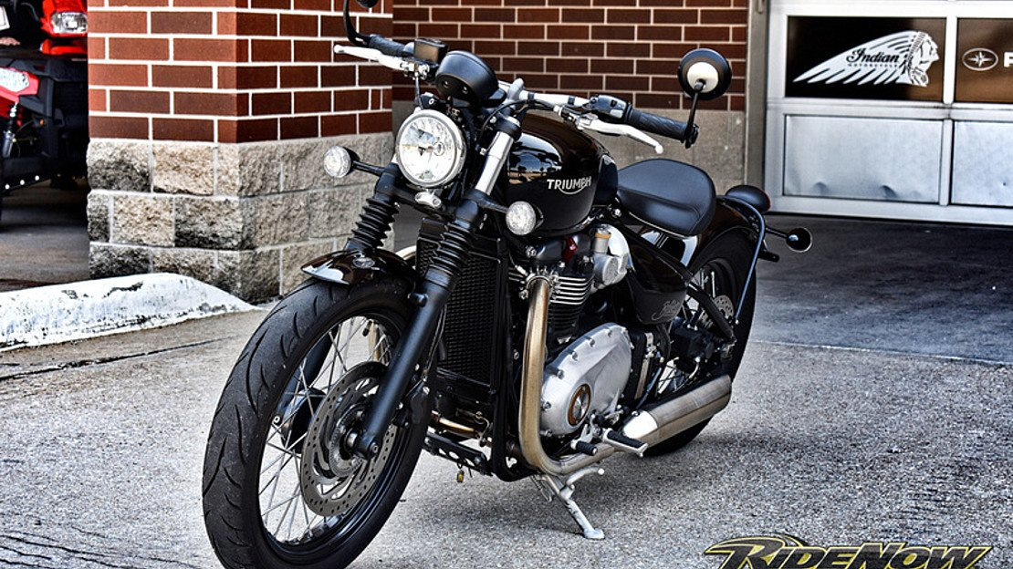 2017 Triumph Bonneville 1200 Bobber for sale 200611091