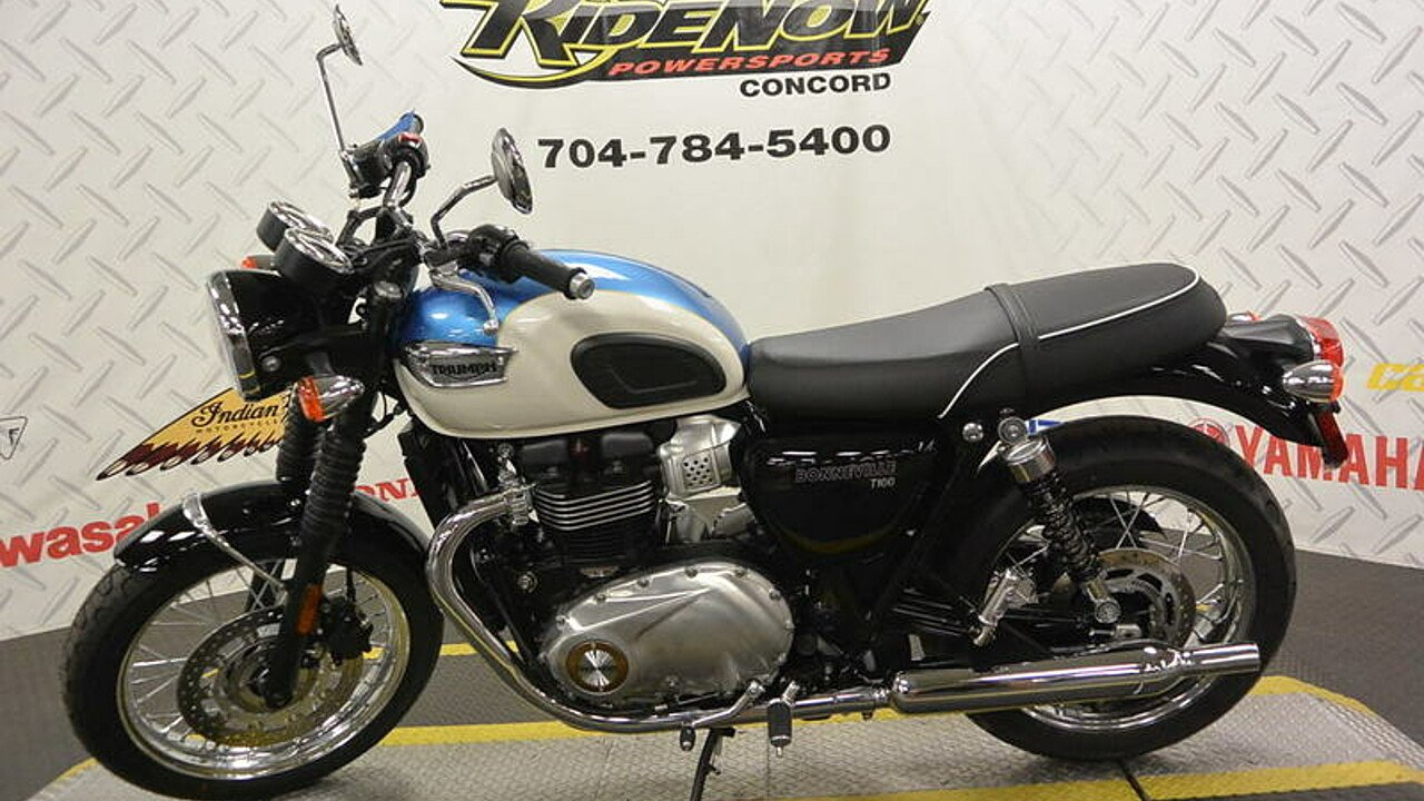 2017 Triumph Bonneville 900 for sale 200460863