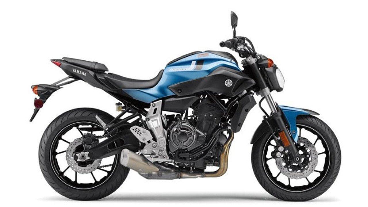 2017 Yamaha FZ-07 for sale 200461706
