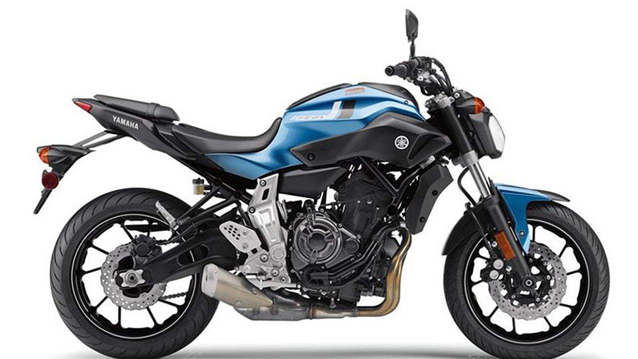 2017 Yamaha FZ-07 for sale 200556080