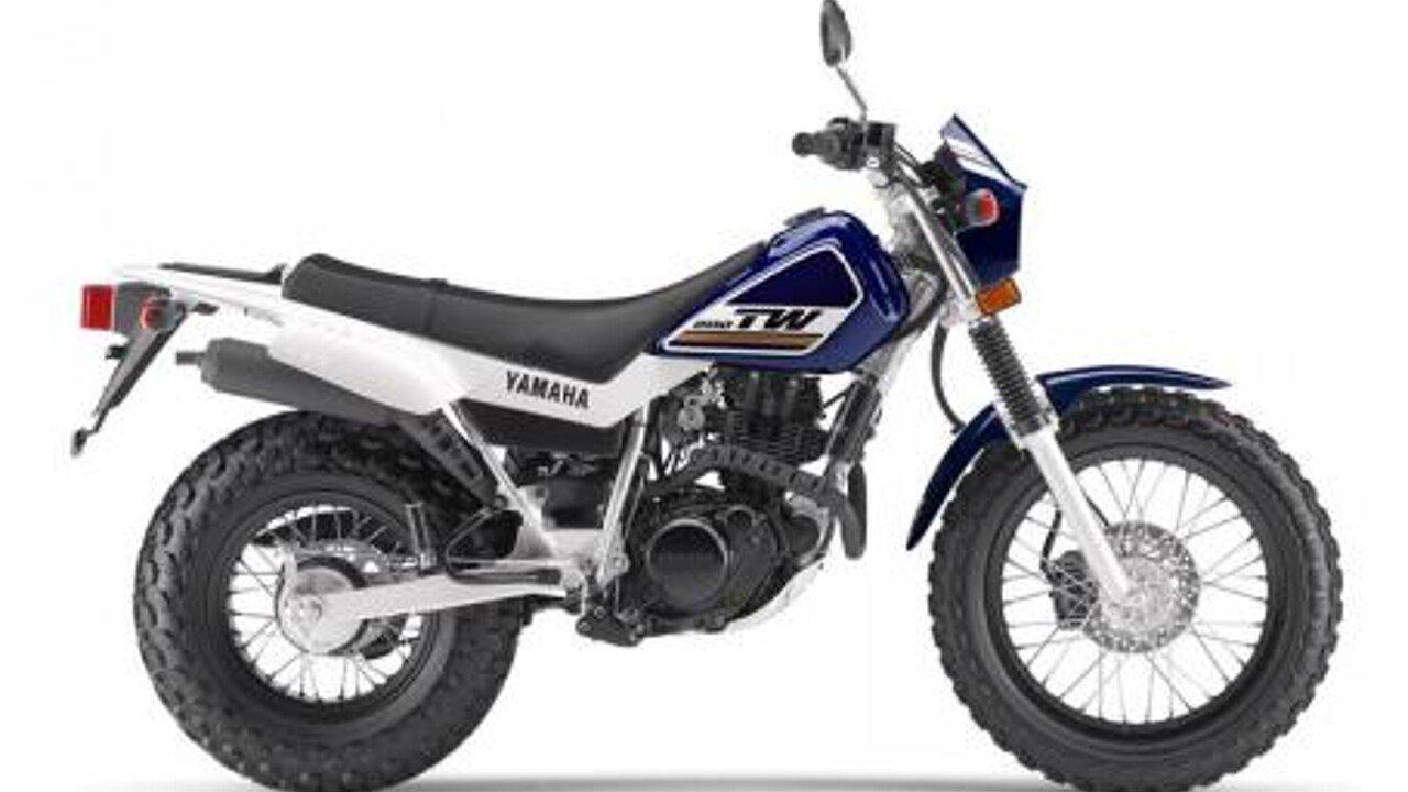 2017 Yamaha TW200 for sale 200440259