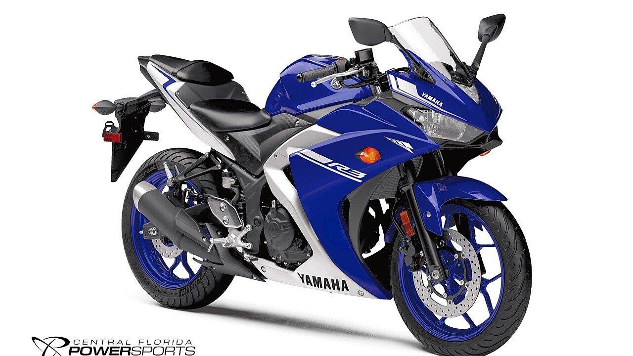 2017 Yamaha YZF-R3 for sale 200417049