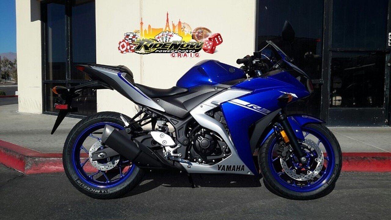 2017 Yamaha YZF-R3 for sale 200493429