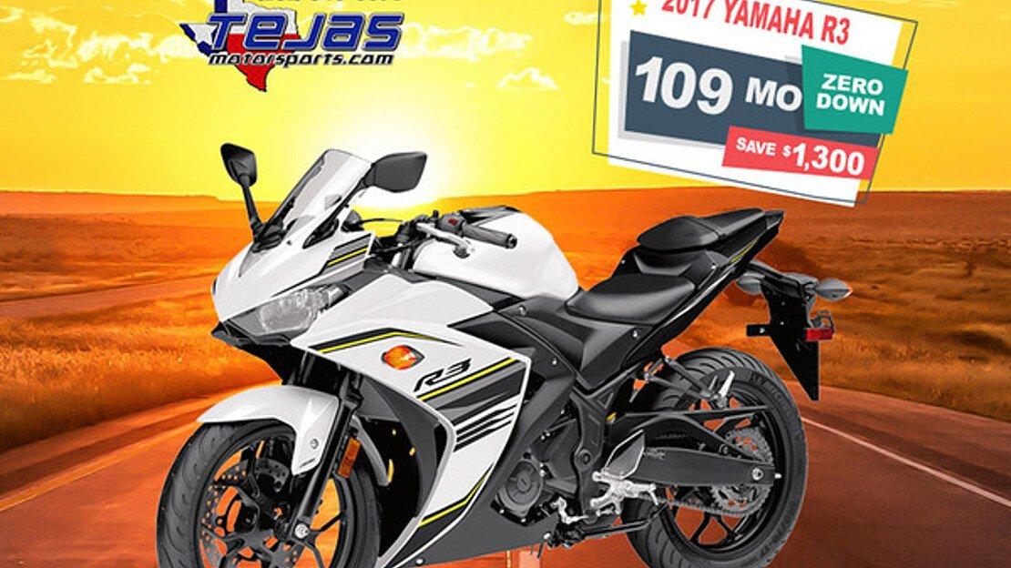 2017 Yamaha YZF-R3 for sale 200584498