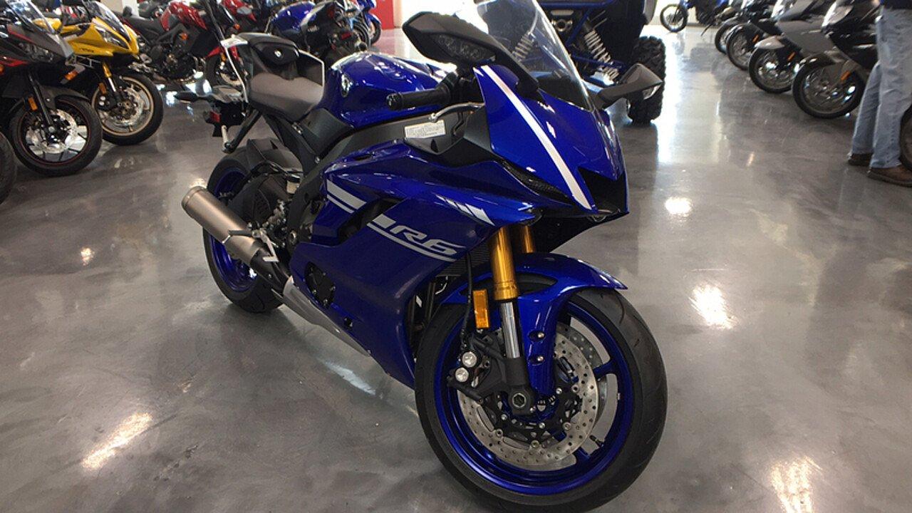 2017 Yamaha YZF-R6 for sale 200450896