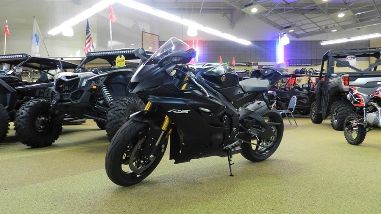 2017 Yamaha YZF-R6 for sale 200621526