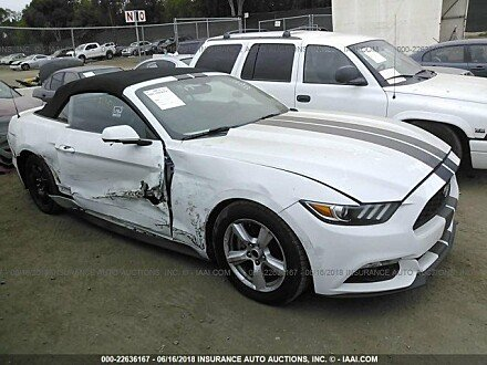 2017 ford Mustang Convertible for sale 101016101