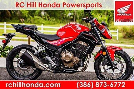 2017 honda CB500F for sale 200532423
