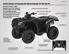 2017 honda FourTrax Rancher 4x4 Automatic DCT IRS for sale 200641635